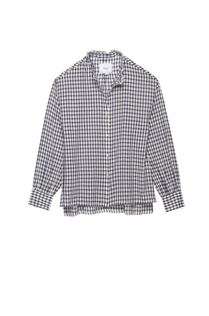 RAILS CLOTHING - Andie Navy Check Shirt online at PAYA boutique