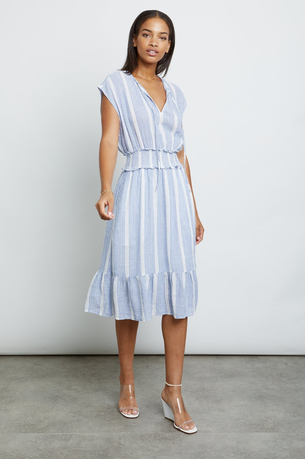Ashlyn Levanzo Stripe Dress by Rails Clothing online at PAYA Boutique