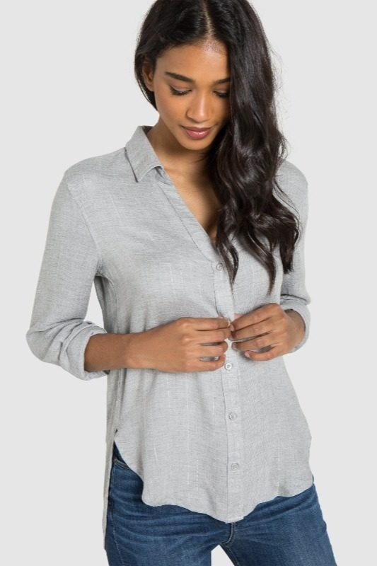 BELLA DAHL - Button Down Shirt online at PAYA boutique