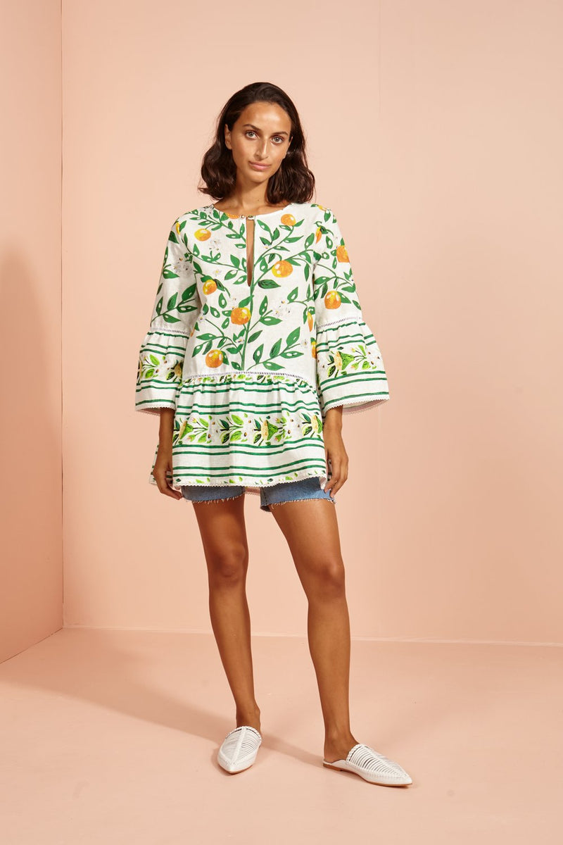 Buy Bombay Ruffle Top from BINNY at PAYA boutique