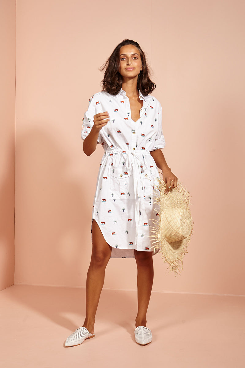BINNY - Coconut Lagoon Dress online at PAYA boutique