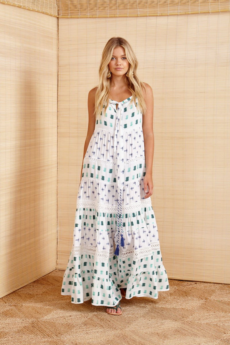 BINNY - Diwali Tiered Maxi Dress online at PAYA boutique