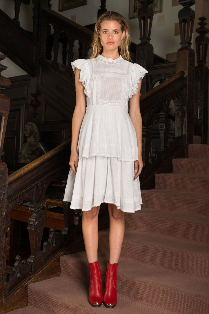 BINNY - Scarlett O'Hara Ruffle Dress online at PAYA boutique