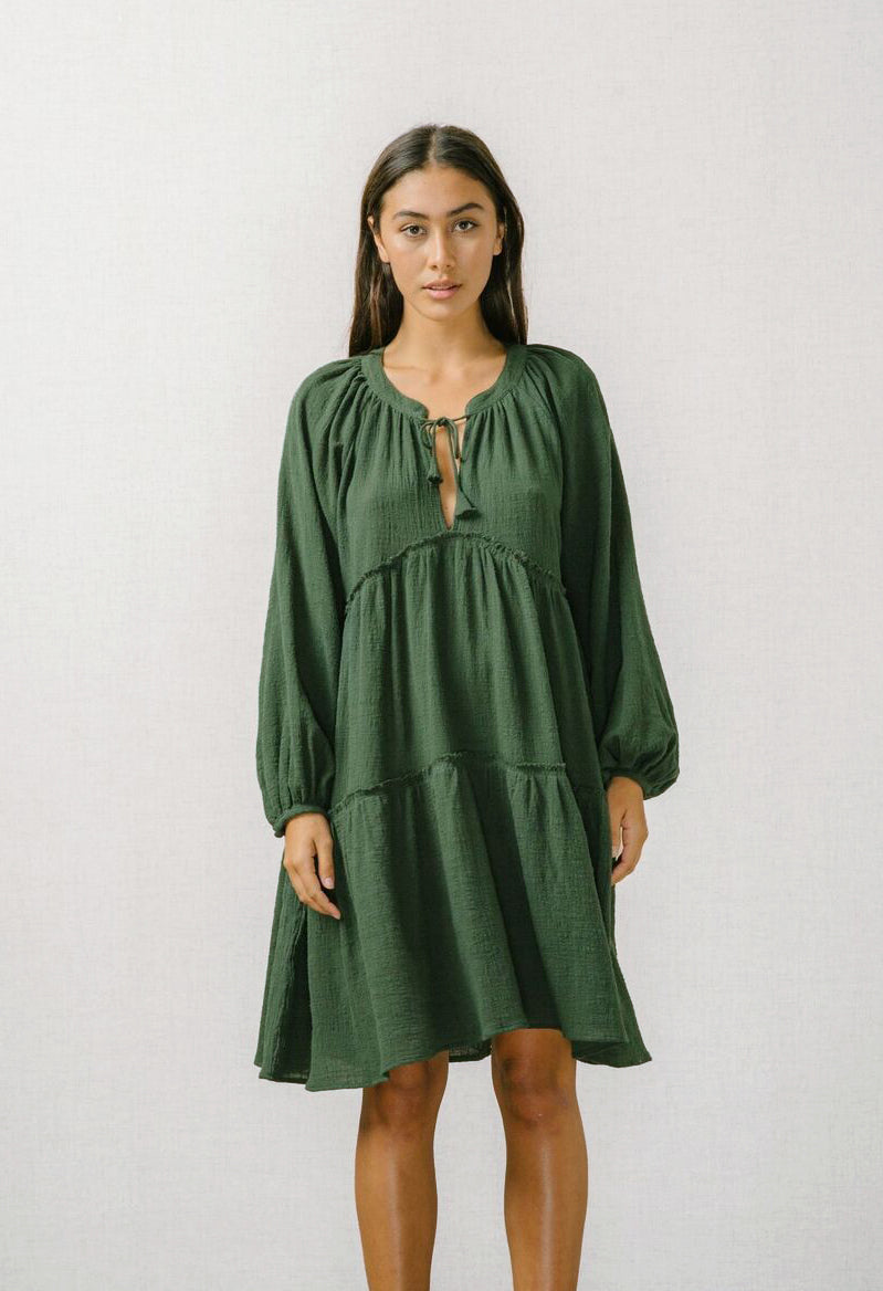 Buy Angeline Smock Dress from BIRD AND KITE at paya boutique