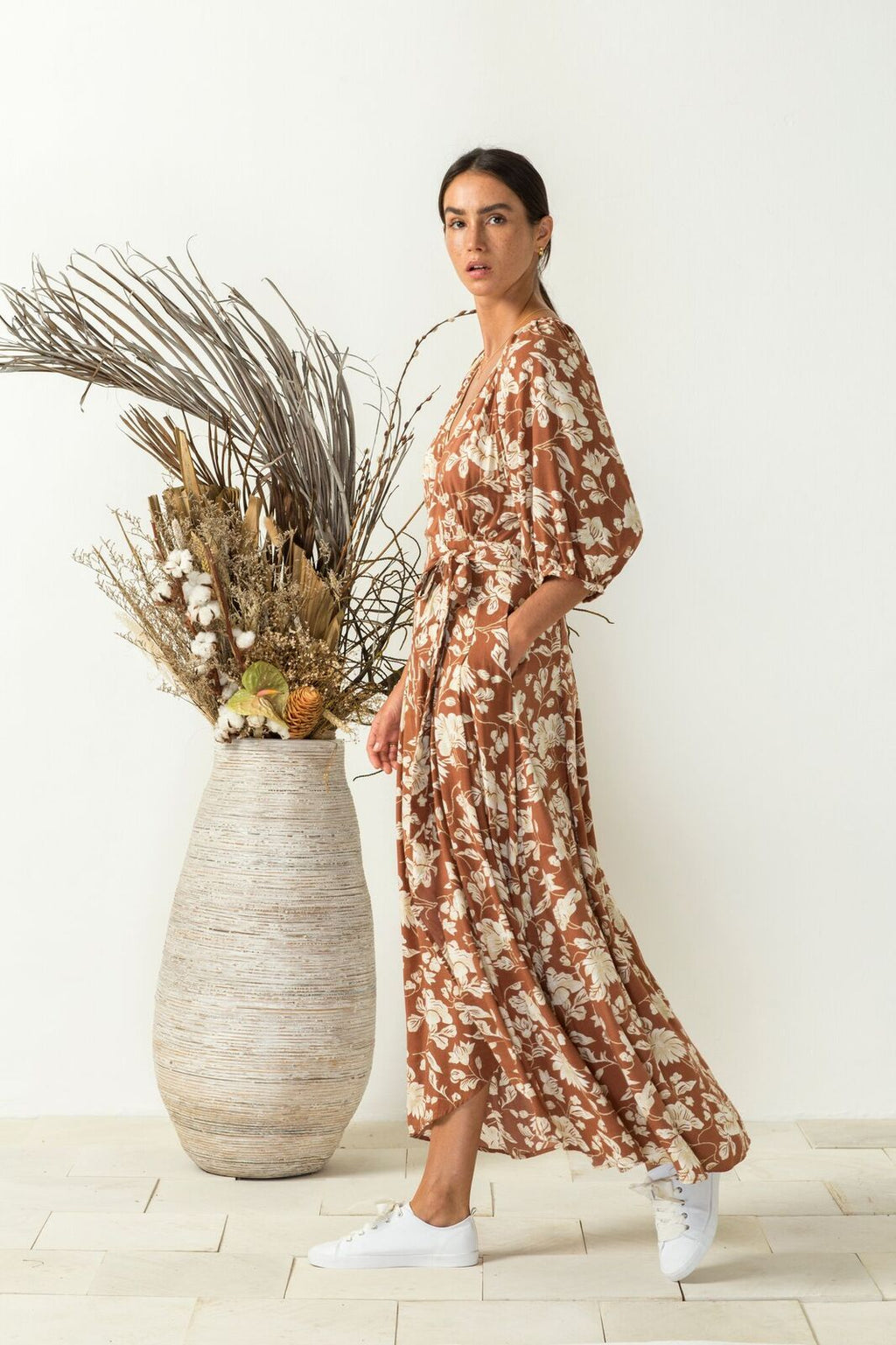 Buy this Bird and Kite Bella Vita wrap dress online at PAYA Boutique - Free delivery to Australia