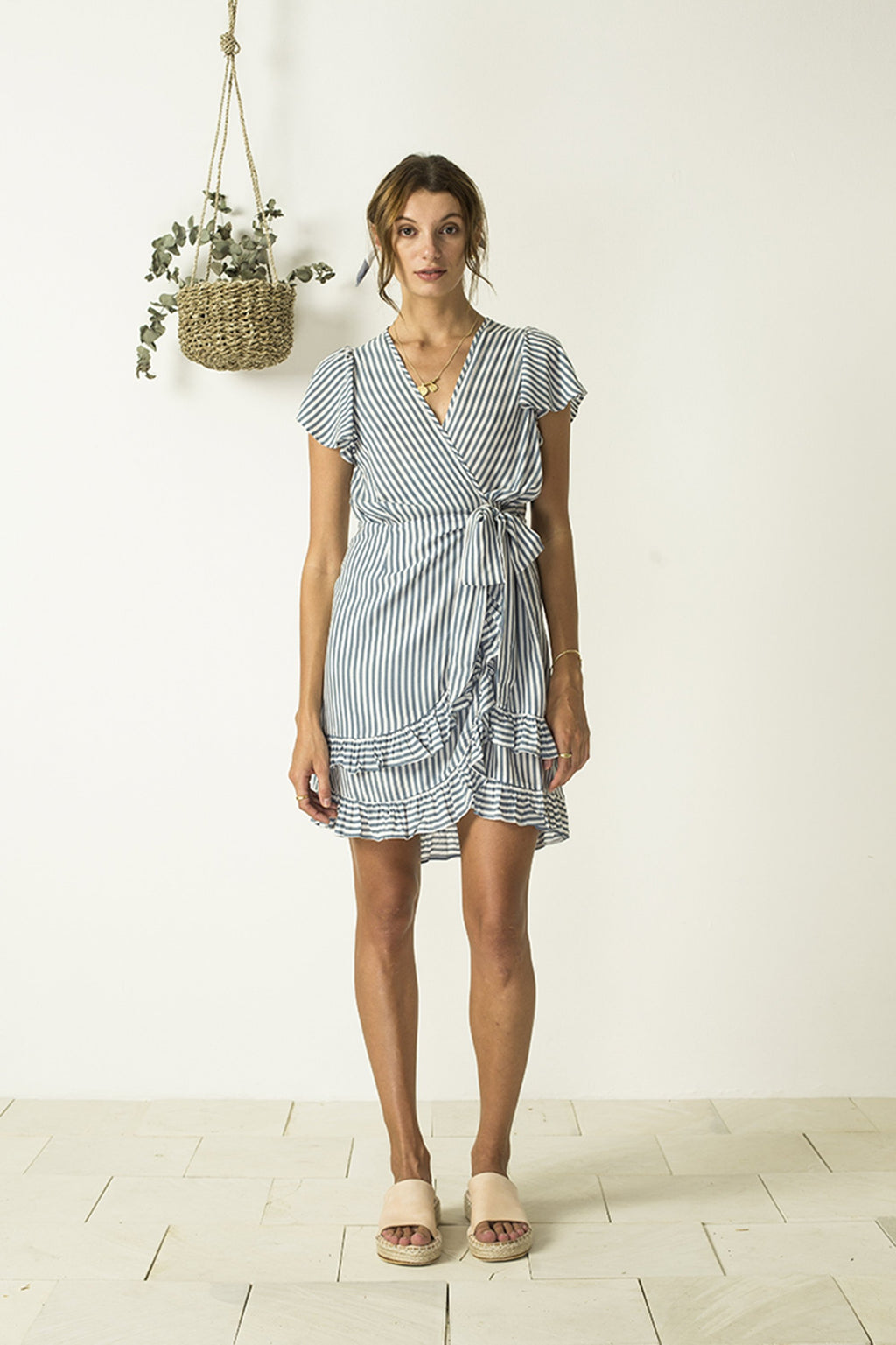 BIRD AND KITE - Lyla Ruffle Wrap Dress online at PAYA boutique