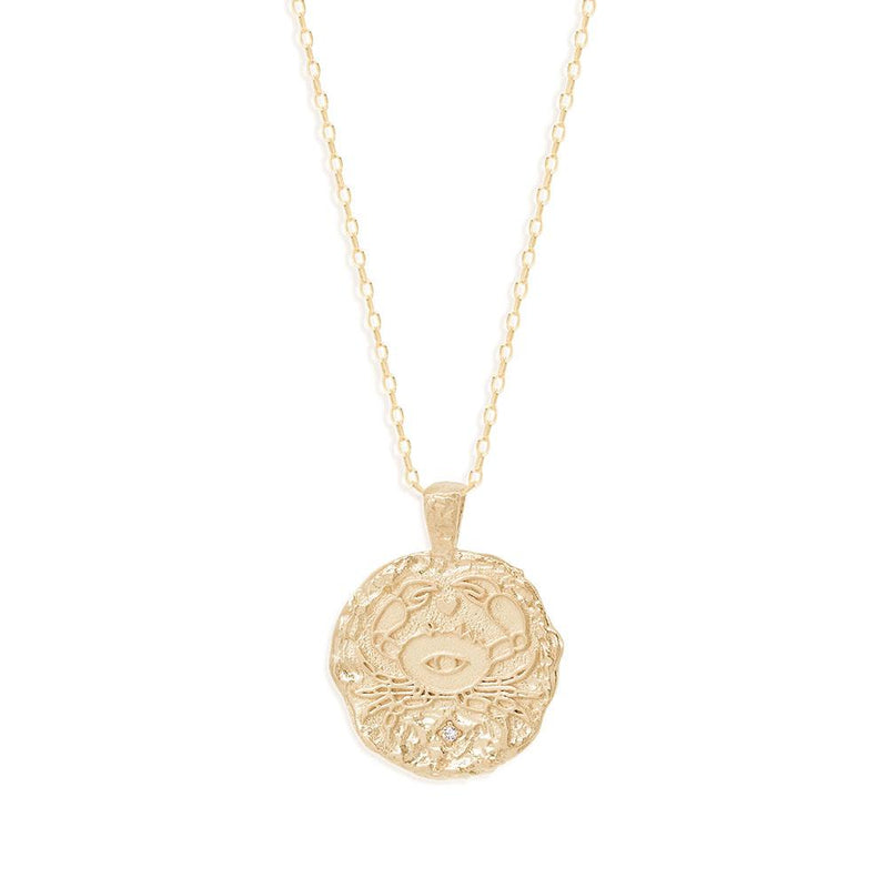 BY CHARLOTTE - Cancer Zodiac Necklace online at PAYA boutique