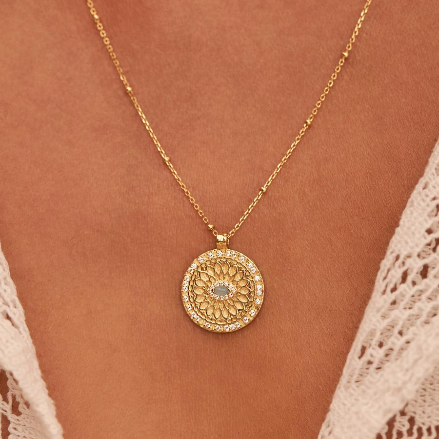 Buy Blessed Eye Necklace from BY CHARLOTTE at PAYA boutique