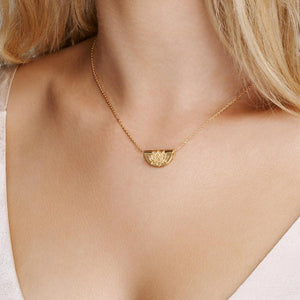 BY CHARLOTTE - Lotus Small Necklace online at PAYA boutique
