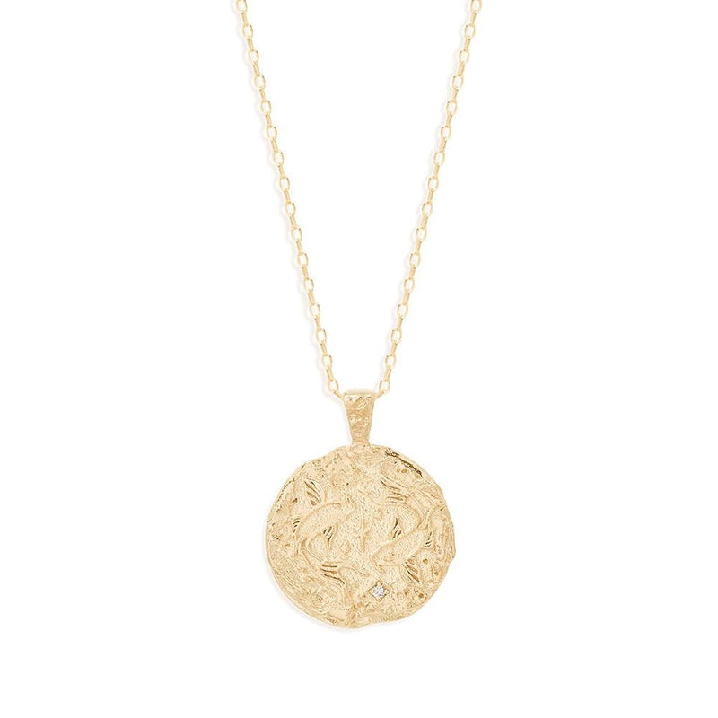 BY CHARLOTTE - Pisces Zodiac Necklace online at PAYA boutique