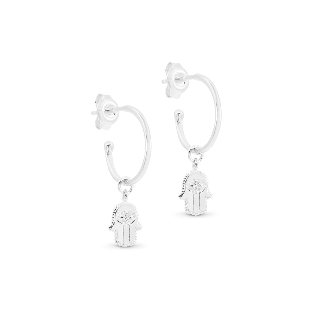 By Charlotte Sacred Guardian Hoop earrings online at PAYA Boutique - Free delivery to Australia
