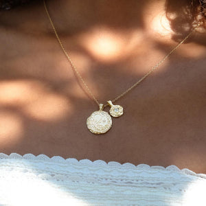 BY CHARLOTTE - Virgo Zodiac Necklace online at PAYA boutique