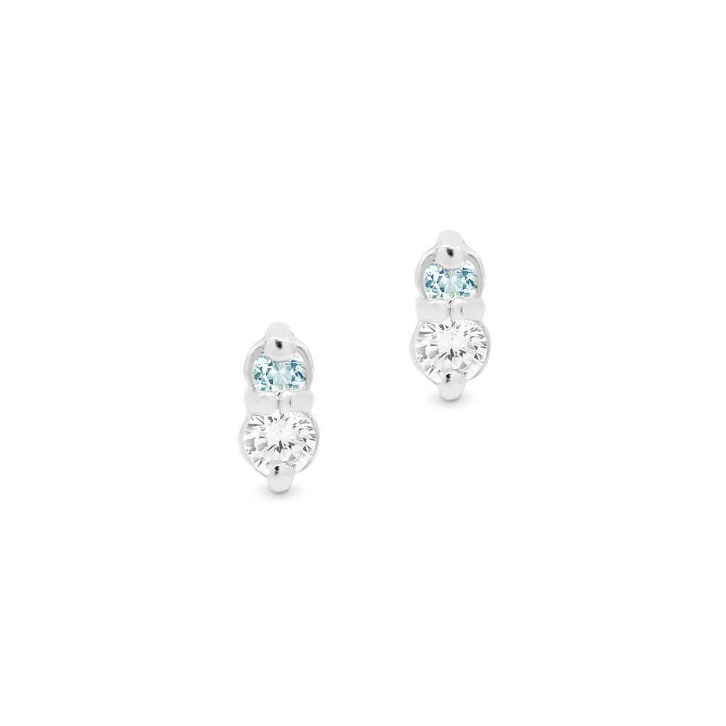 BY CHARLOTTE - Water Stud Earrings online at PAYA boutique