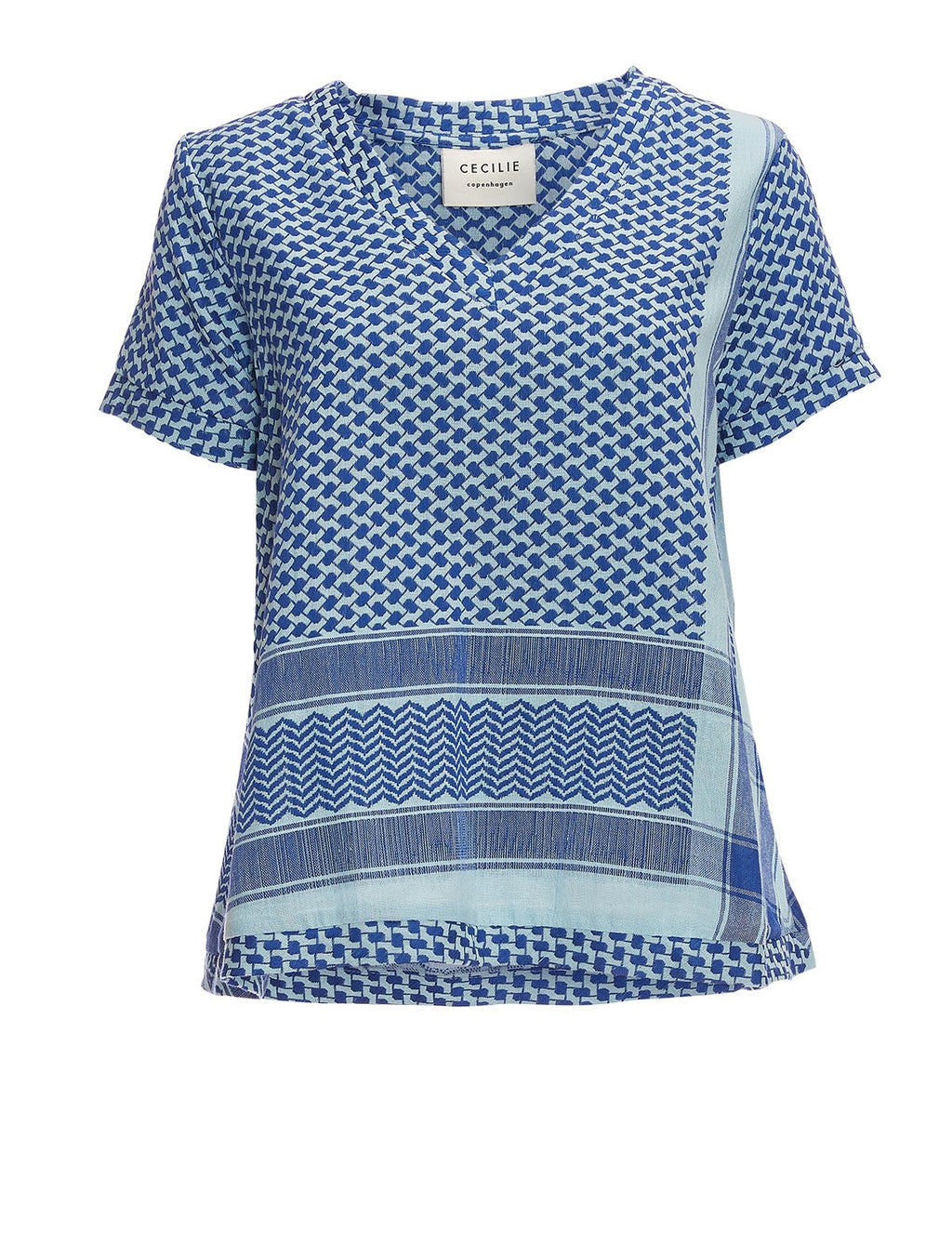 CECILIE COPENHAGEN - Shirt V neck short sleeves online at PAYA boutique