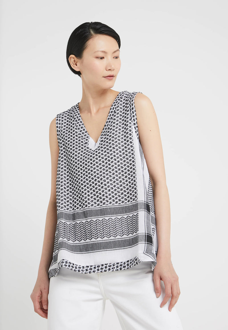 Buy Shirt V No Sleeves from CECILIE COPENHAGEN at PAYA boutique