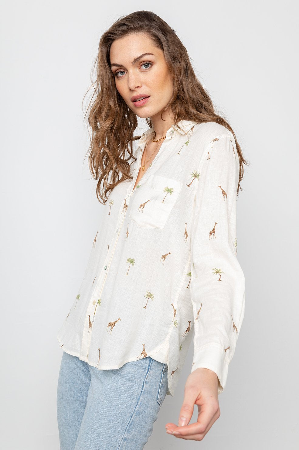 Charli Top Safari by Rails Clothing online at PAYA Boutique