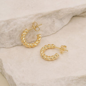 BY CHARLOTTE - Divine Fate Small Hoop Earrings online at PAYA boutique