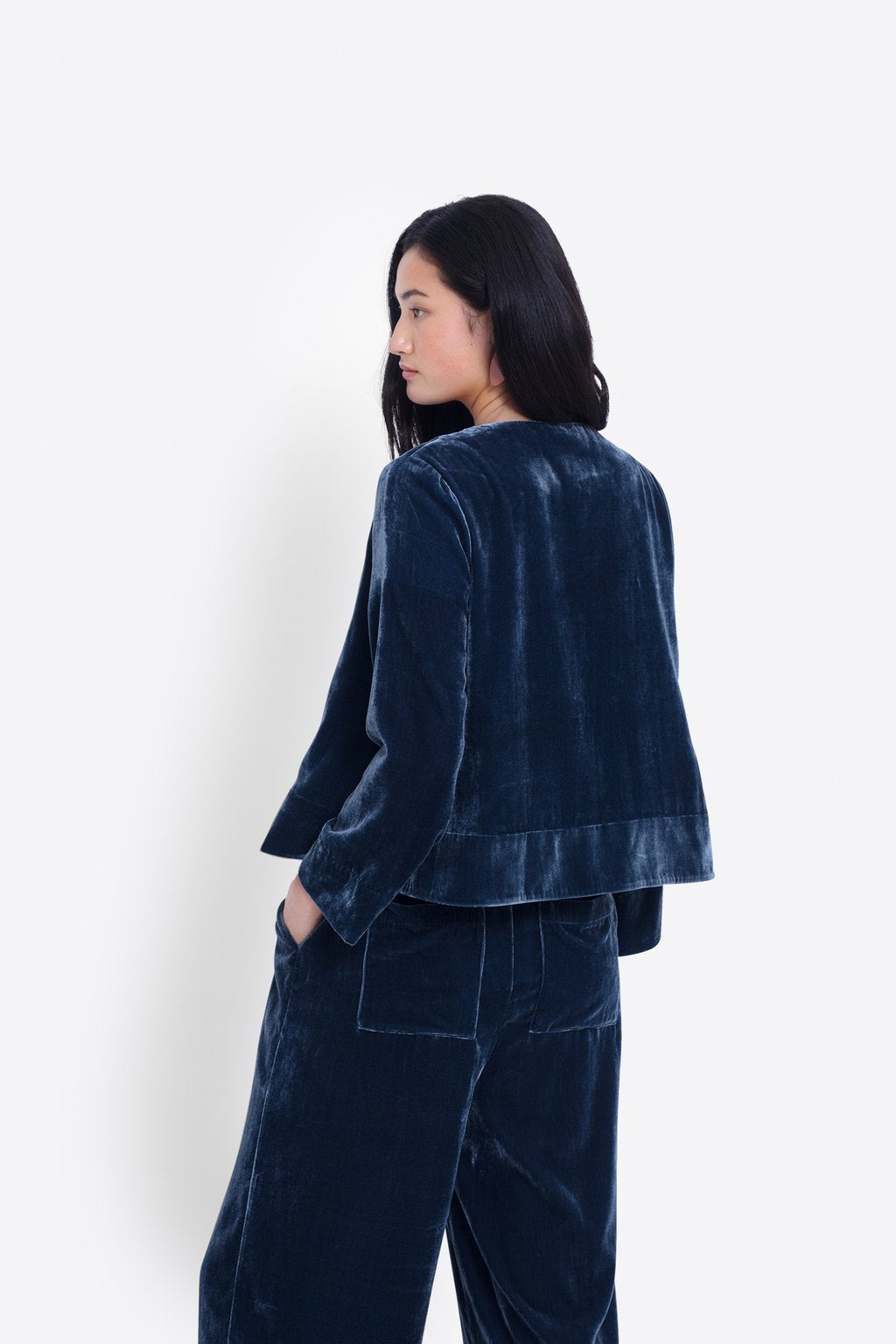 ELK The Label - Luxe Velvet Jacket online at PAYA boutique