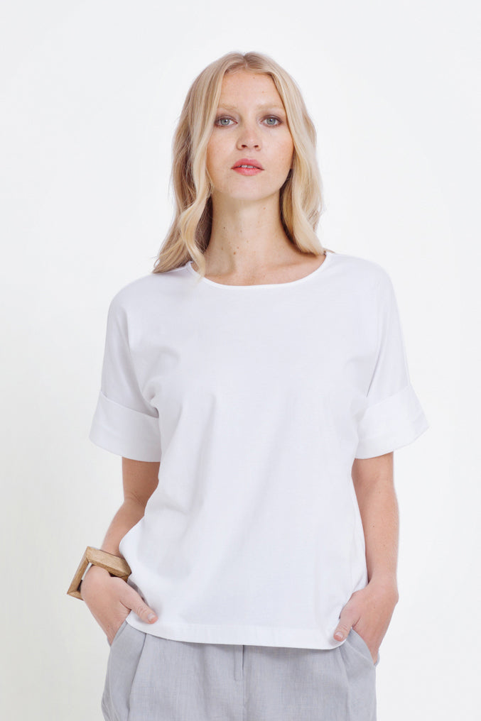 ELK The Label - Roll Cuff Tee online at PAYA boutique