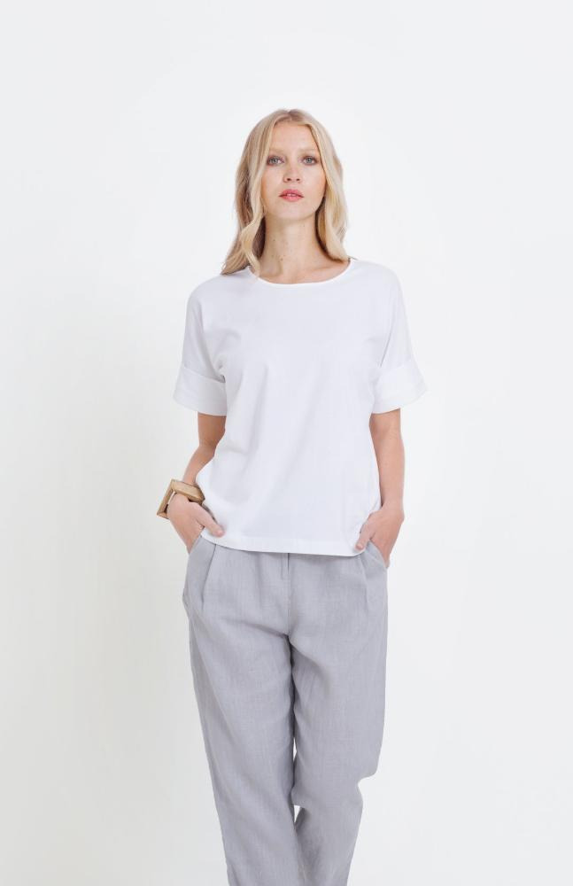 Buy Roll Cuff Tee from ELK The Label at paya boutique