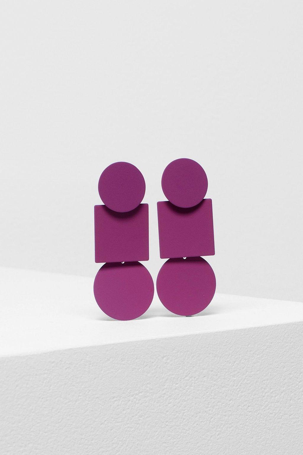 ELK The Label - Fala Drop Earrings - Magenta online at PAYA boutique