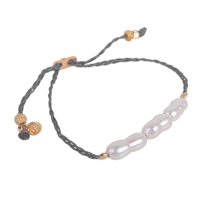 FAIRLEY - Rice Pearl Rope Bracelet online at PAYA boutique