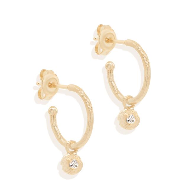 BY CHARLOTTE - Guiding Light Hoop Earrings online at PAYA boutique