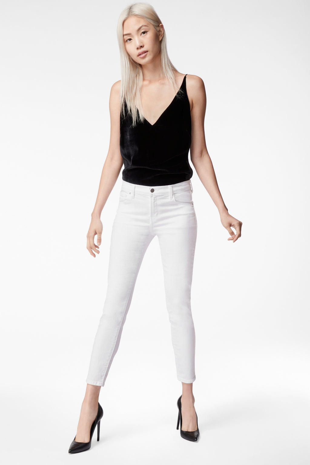 Buy 835 Mid Rise Cropped Skinny Pants from J BRAND at PAYA boutique