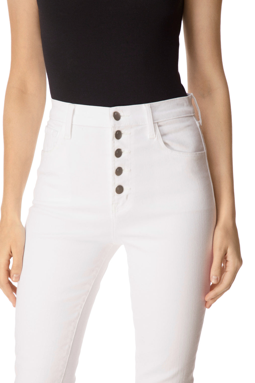 J BRAND - Lillie High Rise Cropped Skinny Pants online at PAYA boutique