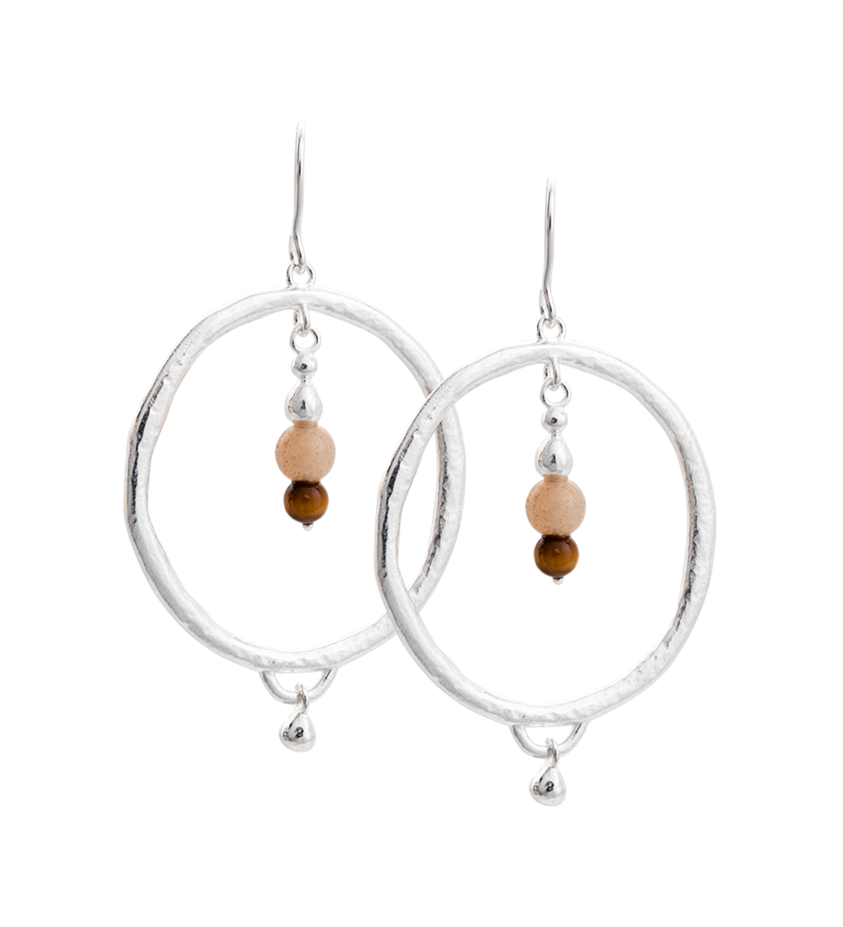 KIRSTIN ASH - Artisan Hoop Earrings online at PAYA boutique