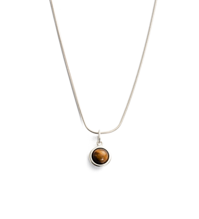KIRSTIN ASH - Tigers Eye Gemstone Necklace online at PAYA boutique