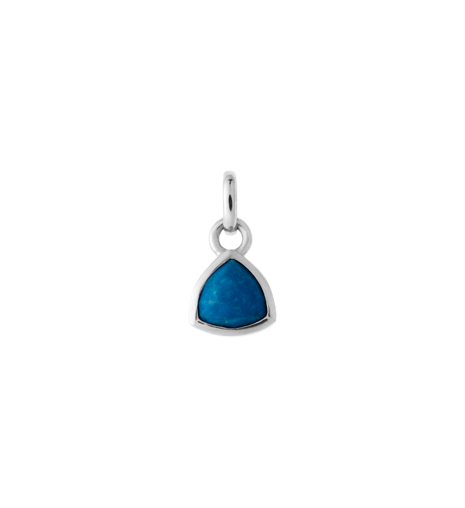KIRSTIN ASH - Trillion Gem Lapis Charm online at PAYA boutique