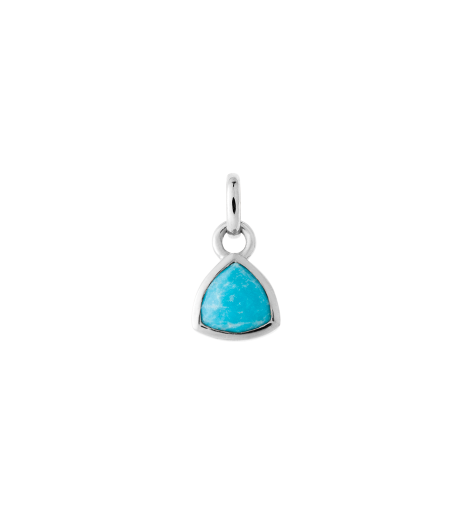 KIRSTIN ASH - Trillion Gem Turquoise Charm online at PAYA boutique