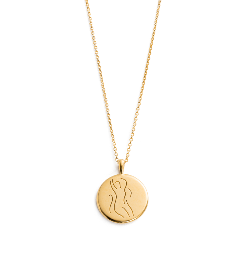 KIRSTIN ASH - Vitality Amulet Necklace online at PAYA boutique