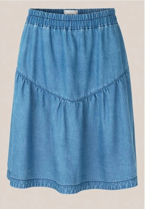 SECOND FEMALE - Lyle Denim Skirt online at PAYA boutique