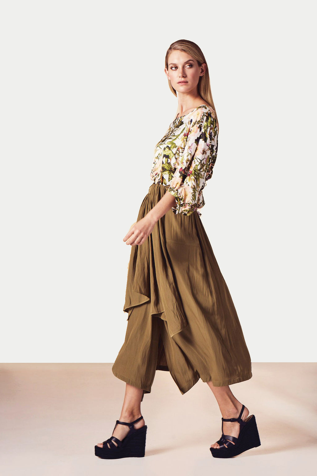 MELA PURDIE - Fold Skirt online at PAYA boutique