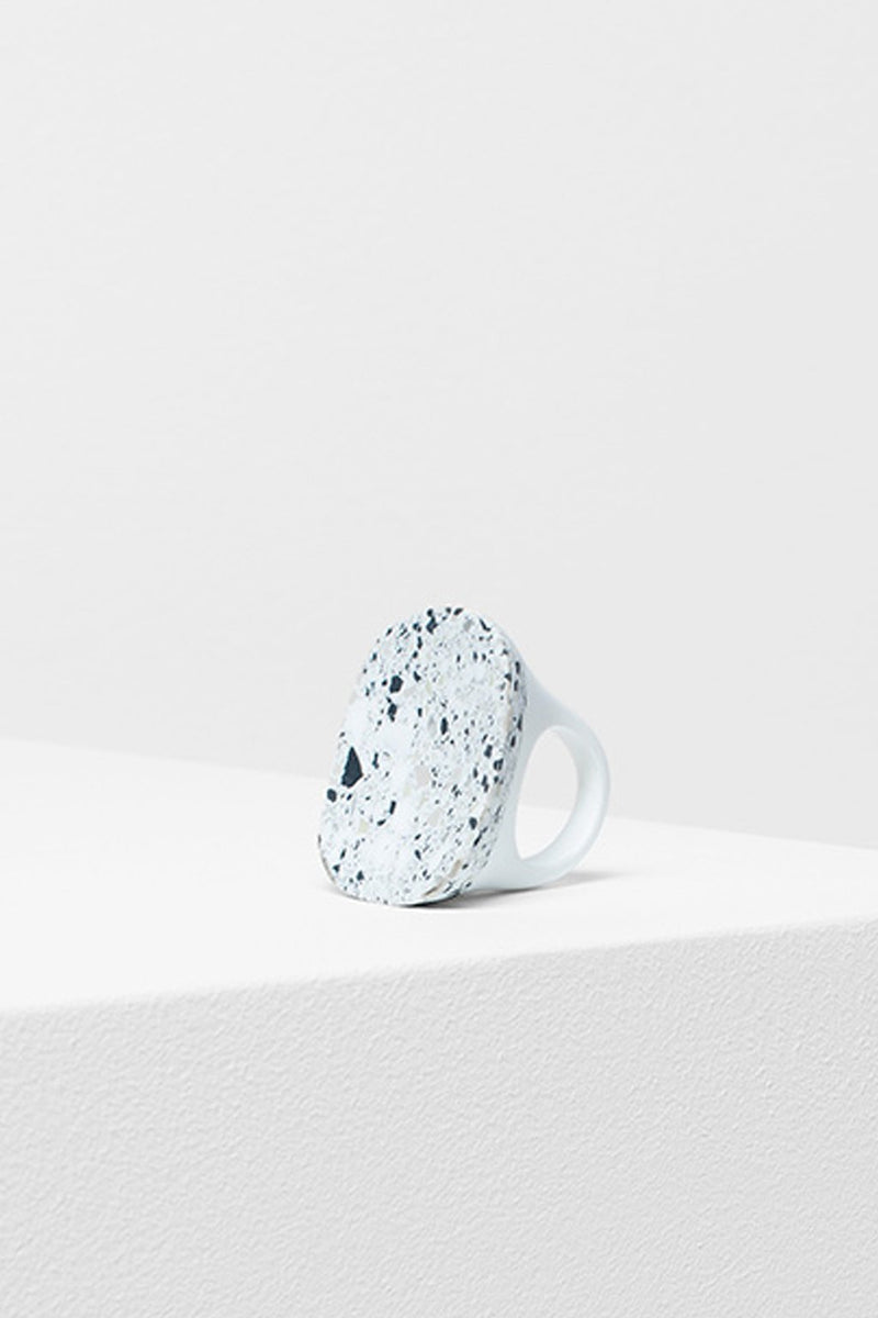 ELK The Label - Large Terrazzo Ring - White online at PAYA boutique