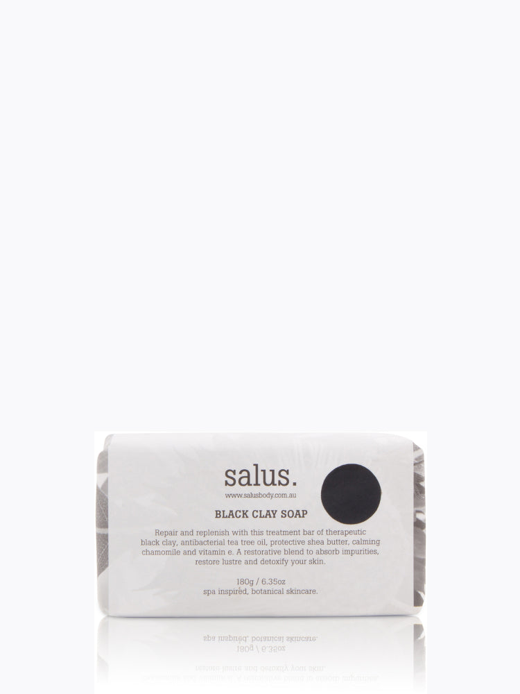 Buy Black Clay Soap from SALUS at PAYA boutique