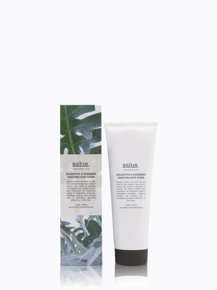 SALUS - Eucalyptus & Rosemary Purifying Body Scrub online at PAYA boutique