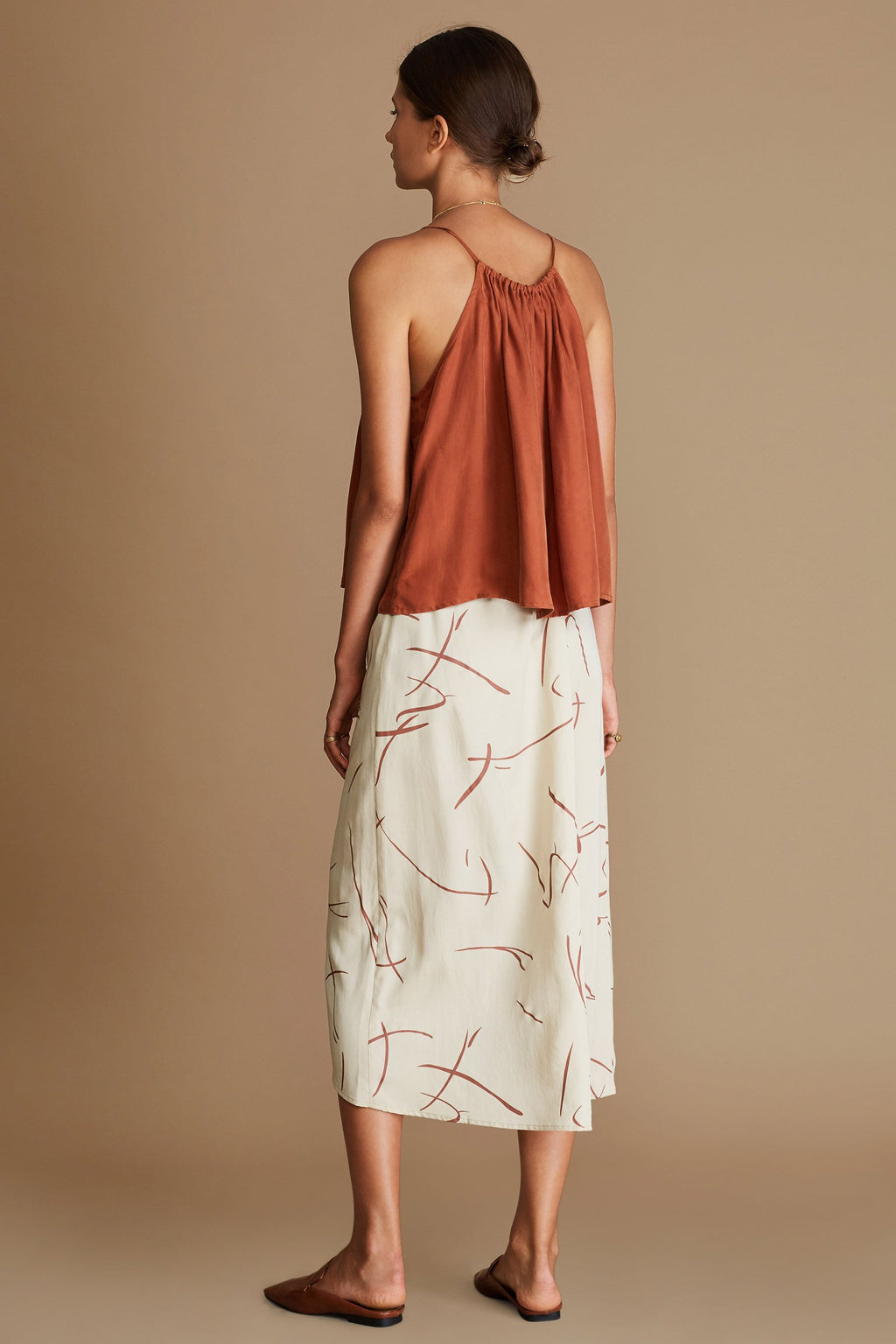 Sancia Mila Top in terracotta online at PAYA Boutique - Free delivery to Australia