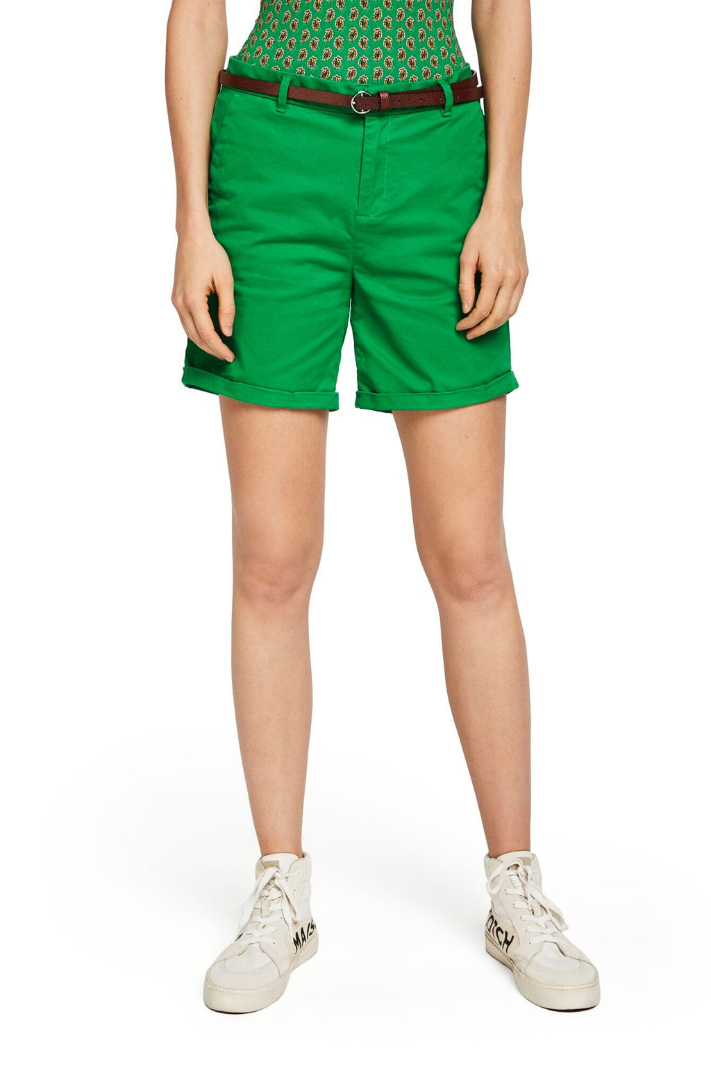 SCOTCH AND SODA - Belted Chino Shorts online at PAYA boutique