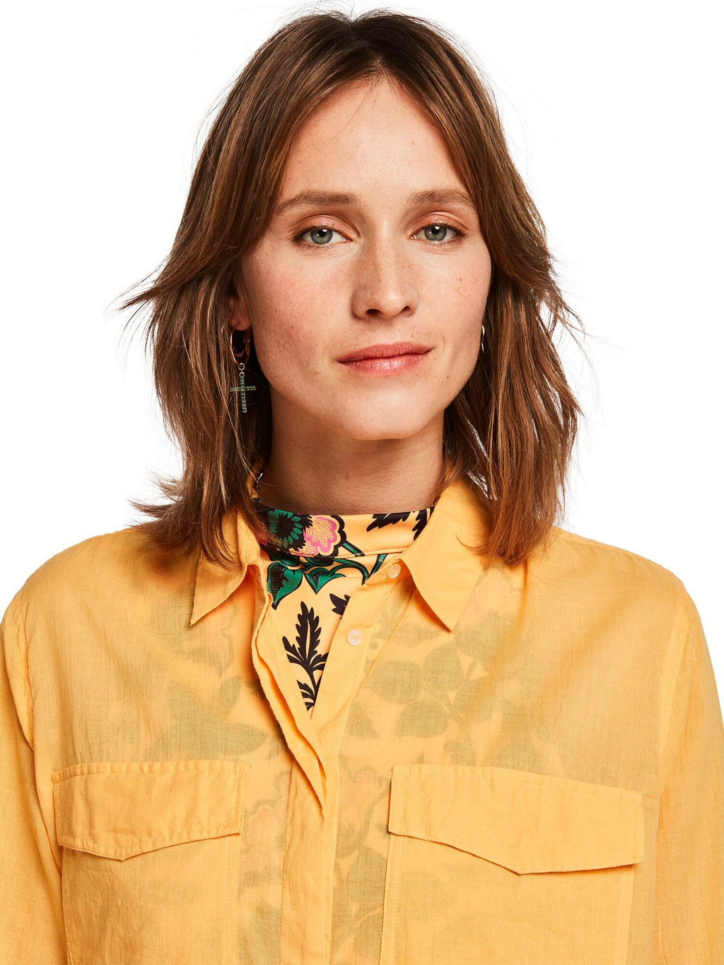 Buy Cotton Button Up Shirt from SCOTCH AND SODA at PAYA boutique