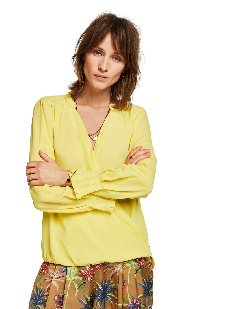 Buy Wrap Front Blouse from SCOTCH AND SODA at PAYA boutique