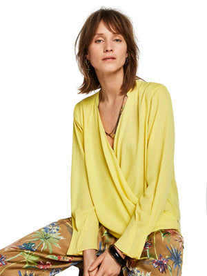 SCOTCH AND SODA - Wrap Front Blouse online at PAYA boutique