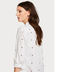 SCOTCH AND SODA - Embroidered Star Shirt online at PAYA boutique