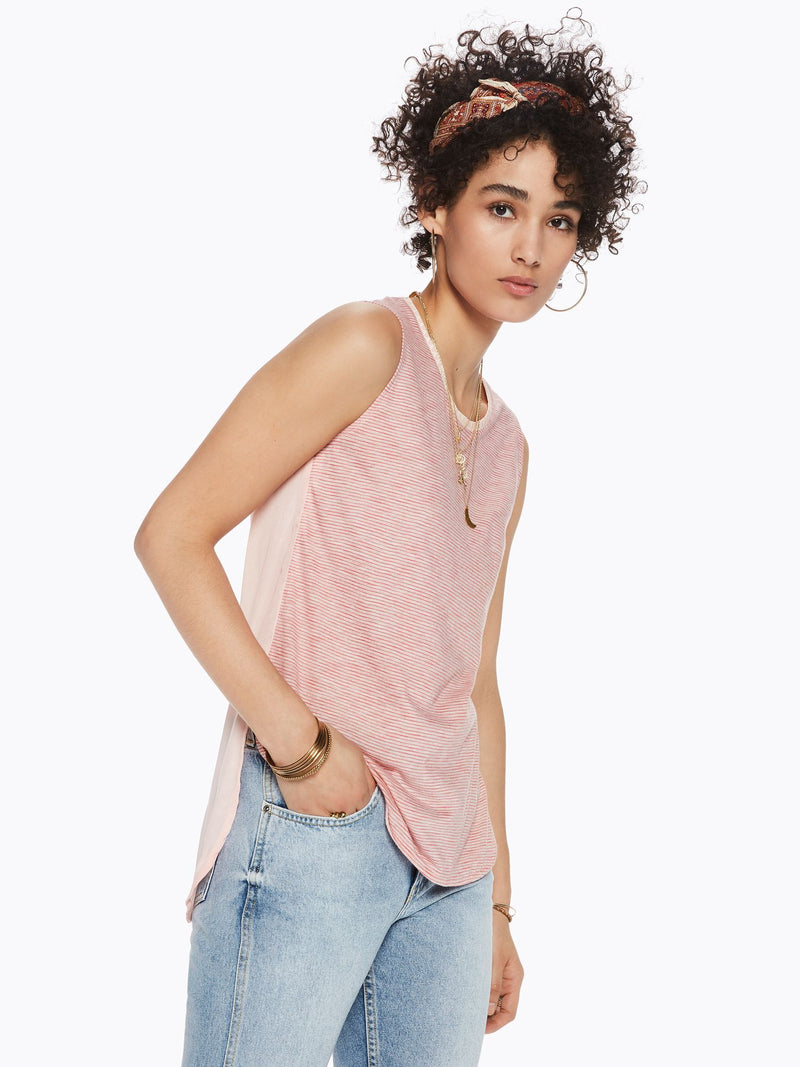 Buy Contrast Back Tank Top from SCOTCH AND SODA at paya boutique