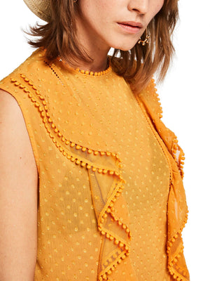 SCOTCH AND SODA - Lace Ruffle Top online at PAYA boutique