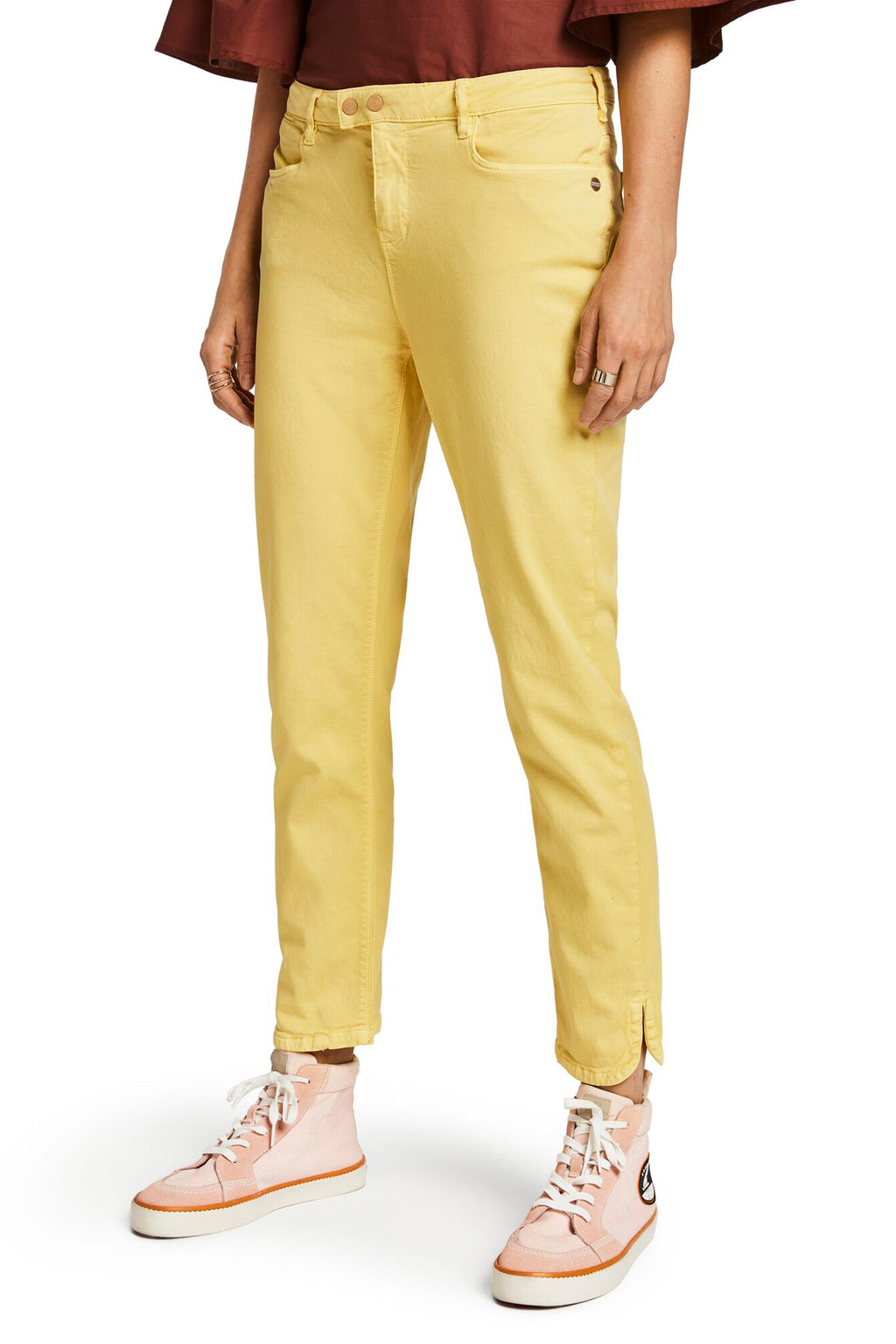 SCOTCH AND SODA - Petit Ami Slim Boyfriend Pants online at PAYA boutique