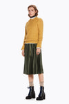 SCOTCH AND SODA - Silky Pleated Skirt online at PAYA boutique