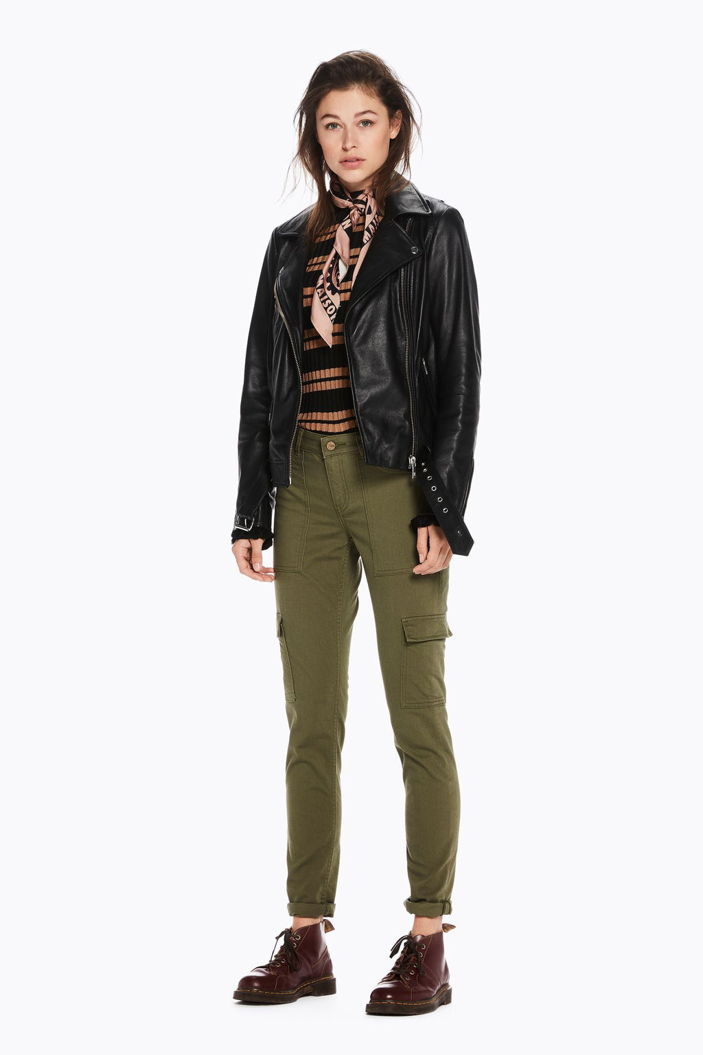 SCOTCH AND SODA - Skinny Fit Cargo Pants online at PAYA boutique